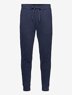 Cotton-Blend Jogger Pant - kläder - medieval blue hea