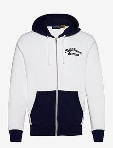 Polo Team Fleece Hoodie - kapuzenpullover - white multi