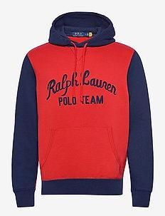 Polo Team Fleece Hoodie - kapuzenpullover - polo sport red mu