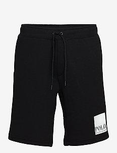 DBL KNIT TECH CVS-ATL - casual shorts - polo black