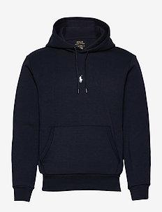 Double-Knit Hoodie - basic sweatshirts - aviator navy