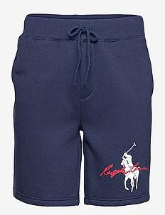 8-Inch Big Pony Logo Fleece Short - casual shorts - cruise navy