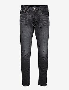 Sullivan Slim Polo Pony Jean - slim jeans - maines black
