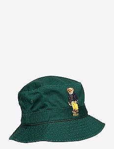 Polo Bear Chino Bucket Hat - bucket hats - college green