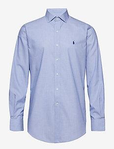 Custom Fit Striped Shirt - 3210A LIGHT BLUE/