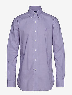 804fa6e0ef05d Slim Fit Gingham Poplin Shirt - 3160A PLUM/WHITE. 45%. Polo Ralph Lauren.  Slim ...