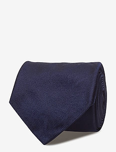 Silk Narrow Tie - NAVY