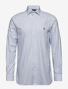 6f4b974d92058 REG PPC NK-DRESS SHIRT - 3139 YALE/WHITE. 45%. Polo Ralph Lauren. Reg ppc  nk-dress shirt ...