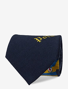 Rugby Player Wool Tie - NAVY