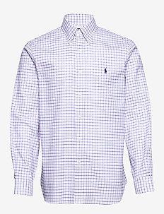 Custom Fit Tattersall Shirt - rutede skjorter - 3138c taylor rose