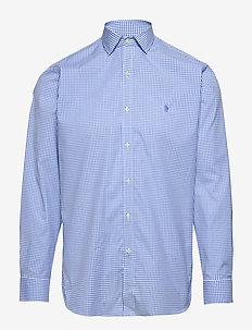 EASYCARE STR POPLIN-CUSTOM ESTATE P - koszule w kratkę - 4456b chalk/light