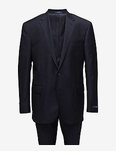 Polo Wool Twill Suit - costumes simple boutonnage - classic navy