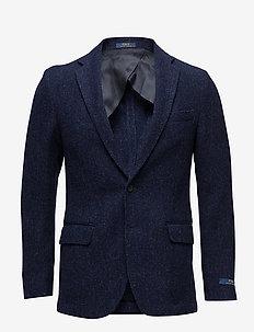 Morgan Birdseye Suit Jacket - NAVY AND BLACK
