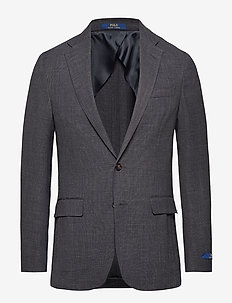 Morgan Textured Sport Coat - CHARCOAL