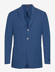 Morgan Seersucker Sport Coat - INDIGO