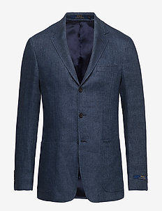 Polo Herringbone Sport Coat - DARK NAVY