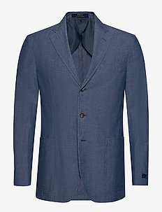 Cotton Chambray Suit Jacket - CHAMBRAY
