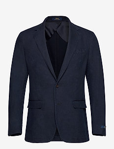 Indigo Piqué Sport Coat - WASHED INDIGO