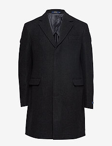 Polo Unconstructed Topcoat - ullfrakker - charcoal