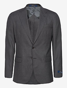 Polo Soft Traveler Sport Coat - enkeltradede blazere - medium grey