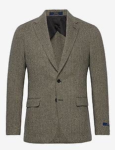 Soft Herringbone Sport Coat - enkelknäppta kavajer - black/cream
