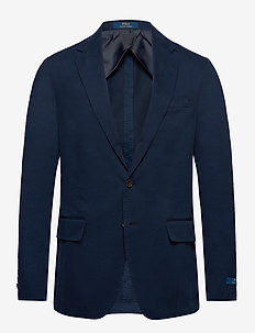 Polo Soft Chino Suit Jacket - marynarki jednorzędowe - bright navy