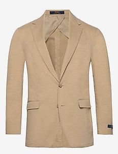 Polo Soft Chino Suit Jacket - einreiher - tan