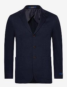 Polo Soft Knit Blazer - einreiher - navy