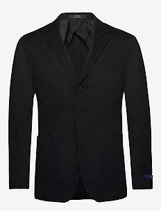 Polo Soft Knit Blazer - single breasted blazers - polo black