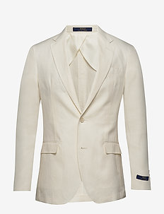 Polo Soft Linen Sport Coat - enkelknäppta kavajer - light cream