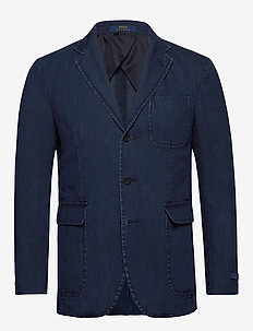 Polo Soft Denim Sport Coat - INDIGO