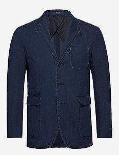 Polo Soft Denim Sport Coat - marynarki jednorzędowe - indigo