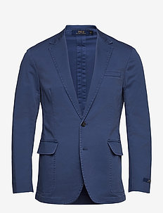 Polo Unconstructed Stretch Suit Jacket - enkelknäppta kavajer - federal blue