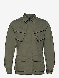 Stretch Ripstop Utility Suit Jacket - windjassen - olive