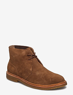 Karlyle Suede Chukka Boot - NEW SNUFF