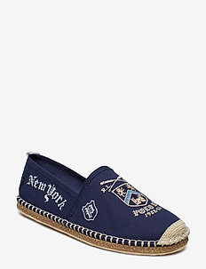 YALE GRAPHIC CANVAS-BARRON-SH-CSL - NEWPORT NAVY