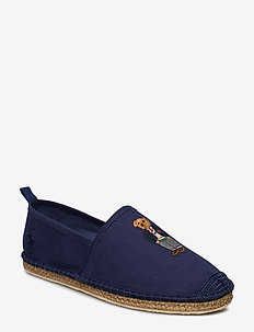 CANVAS/POLO BEAR-BARRON-SH-CSL - NEWPORT NAVY