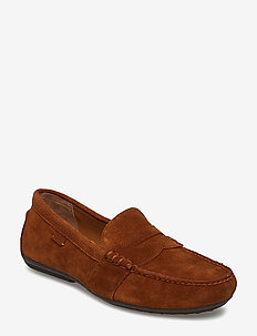 Reynold Suede Driver - loafers - snuff
