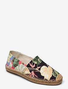 Cevio Floral Canvas Espadrille - espadrillot - patio floral colo