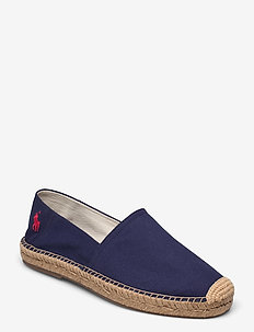 Cevio Cotton Canvas Espadrille - shoes - newport navy/red
