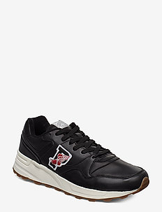 LEATHER-TRACKSTR 100-SK-ATH - BLACK