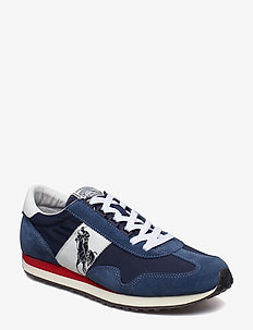 Train 90 Sneaker - låga sneakers - newport navy/whit