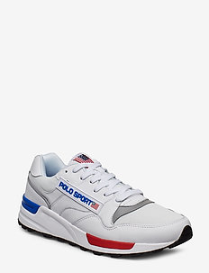 Trackster 100 Leather Sneaker - WHITE