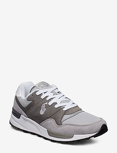 Trackster 100 Leather Sneaker - CHANNEL GREY/MUSU
