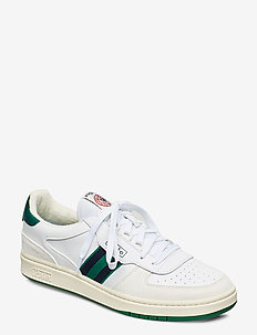 Court Leather Sneaker - low tops - white/kelly green