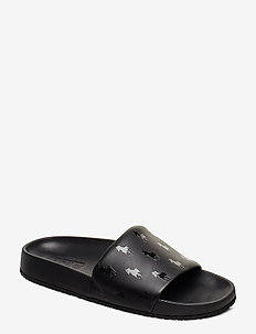 Cayson Pony Slide Sandal - black