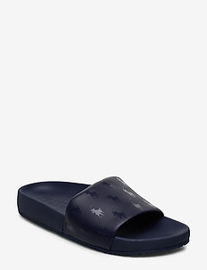 Cayson Pony Slide Sandal - newport navy