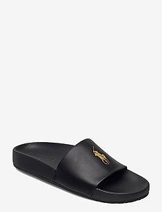 Cayson Pony Slide Sandal - pool sliders - black/gold pp