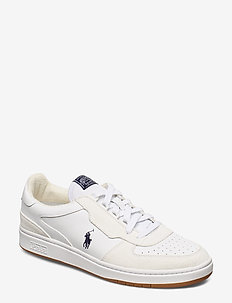 Court Leather Sneaker - low tops - white/navy pp