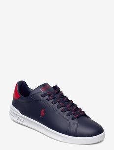 Heritage Court II Leather Sneaker - baskets basses - newport navy/rl20